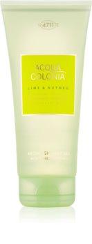4711 Acqua Colonia Lime & Nutmeg gel douche mixte 200 ml