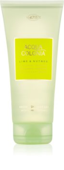 4711 Acqua Colonia Lime & Nutmeg tusfürdő unisex 200 ml