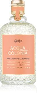 4711 Acqua Colonia White Peach & Coriander eau de cologne mixte 170 ml