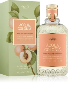 4711 Acqua Colonia White Peach & Coriander eau de cologne mixte 170 ml