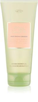 4711 Acqua Colonia White Peach & Coriander sprchový gél unisex 200 ml