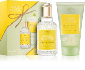 4711 Acqua Colonia Lemon & Ginger coffret cadeau II.