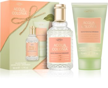 4711 Acqua Colonia White Peach & Coriander coffret cadeau II.