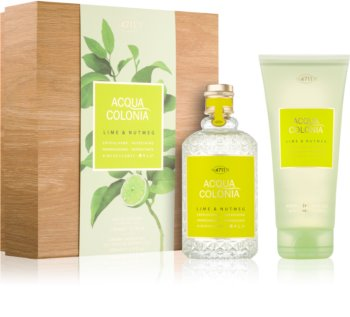 4711 Acqua Colonia Lime & Nutmeg coffret cadeau I. mixte