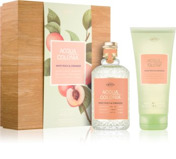 4711 Acqua Colonia White Peach & Coriander poklon set I. uniseks