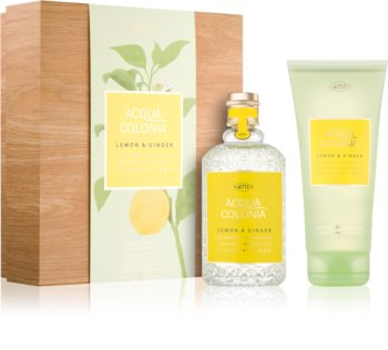 4711 Acqua Colonia Lemon & Ginger confezione regalo I.