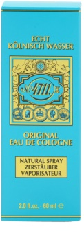 4711 Original Eau de Cologne unissexo 60 ml recarregável