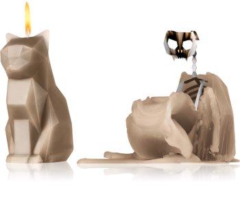 54 Celsius PyroPet KISA (Cat) διακοσμητικά κεριά grey 17 εκ