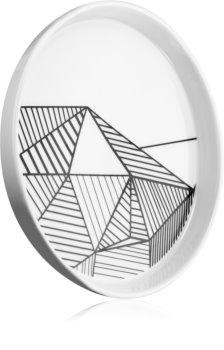 54 Celsius Accessories Porcelain Plate Kerzenständer für Duftkerzen 20 cm