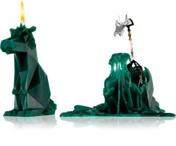 54 Celsius PyroPet DREKI (Dragon) Decorative Candle 17,8 cm Green