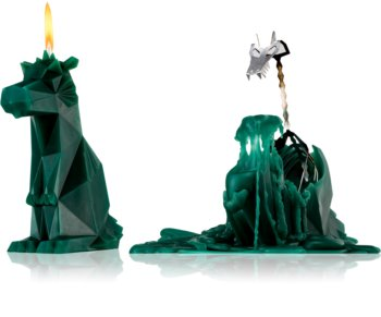 54 Celsius PyroPet DREKI (Dragon) decorative candle green 17,8 cm