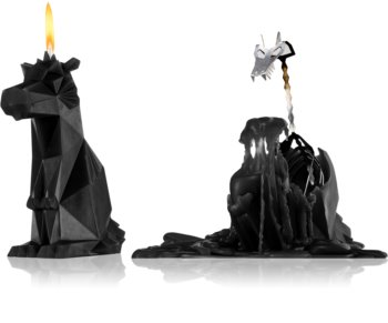 54 Celsius PyroPet DREKI (Dragon) decorative candle Black 17,8 cm