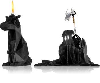 54 Celsius PyroPet DREKI (Dragon) dekorativní svíčka 17,8 cm Black