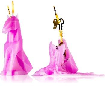 54 Celsius PyroPet EINAR (Unicorn) decorative candle lilac 20,3 cm