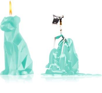 54 Celsius PyroPet VOFFI (Dog) dekorativní svíčka 18 cm Mint