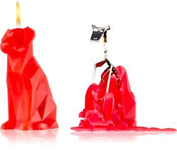 54 Celsius PyroPet VOFFI (Dog) Decorative Candle 18 cm Berry