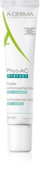 A-Derma Phys-AC Perfect коригиращ флуид за мазна и проблемна кожа