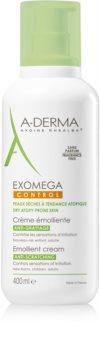 A-Derma Exomega creme corporal suavizador para pele sensível e atópica