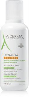 A-Derma Exomega bálsamo corporal hidratante para pele sensível e atópica