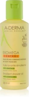 A-Derma Exomega mehčalno olje za prhanje za suho do atopično kožo