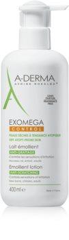 A-Derma Exomega μαλακτική λοσιόν σώματος για πολύ ξηρό ευαίσθητο και ατοπικό δέρμα