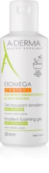 A-Derma Exomega gel moussant adoucissant pour peaux sèches à atopiques