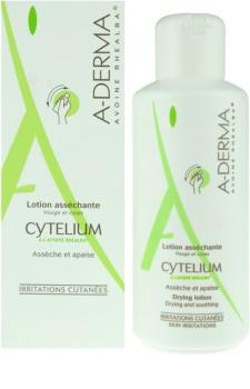 A-Derma Cytelium loção de secagem