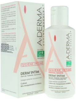 A-Derma Derm´Intim гель для інтимної гігієни pH 8