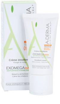 A-Derma Exomega крем за много суха чуствителна и атопична кожа