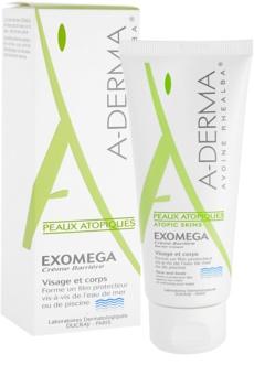 A-Derma Exomega Beschermende Crème  voor Zeer Droge Gevoelige en Atopische Huid