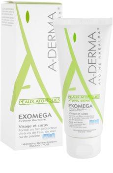 A-Derma Exomega ochranný krém pre veľmi suchú citlivú a atopickú pokožku