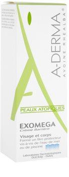 A-Derma Exomega защитен крем  за много суха чуствителна и атопична кожа