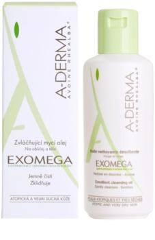 A-Derma Exomega olje za prhanje za zelo občutljivo suho in atopično kožo