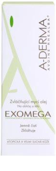 A-Derma Exomega Doucheolie  voor Zeer Droge Gevoelige en Atopische Huid