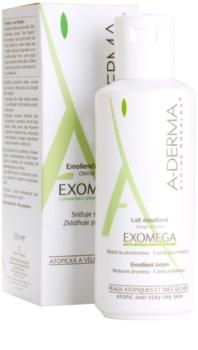 A-Derma Exomega мляко за тяло  за много суха чуствителна и атопична кожа