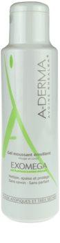 A-Derma Exomega gel hidratant spumant pentru piele foarte sensibila sau cu dermatita atopica
