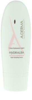 A-Derma Hydralba зволожуючий крем для нормальної та змішаної шкіри