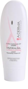 A-Derma Hydralba crème hydratante pour peaux normales à mixtes SPF 20