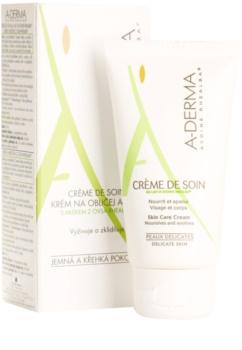 A-Derma Original Care krém  az érzékeny bőrre