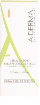 A-Derma Original Care крем для чутливої шкіри