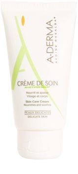 A-Derma Original Care Creme für empfindliche Oberhaut