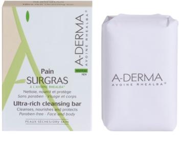A-Derma Original Care jemné čisticí mýdlo