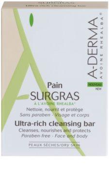 A-Derma Original Care нежен почистващ сапун