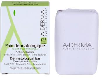 A-Derma Original Care pain dermatologique nettoyant pour peaux sensibles et irritées