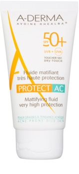 A-Derma Protect AC mattierendes Fluid SPF50+