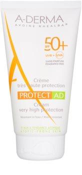 A-Derma Protect AD crema abbronzante protettiva per pelli atopiche SPF 50+