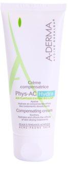 A-Derma Phys-AC Hydra хидратиращ крем за раздразнена и суха кожа след лекуване на акне