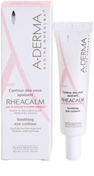 A-Derma Rheacalm beruhigende Augencreme