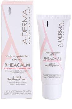 A-Derma Rheacalm umirujuća krema  za normalnu i mješovitu kožu lica