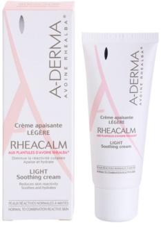 A-Derma Rheacalm успокояващ крем за нормална към смесена кожа